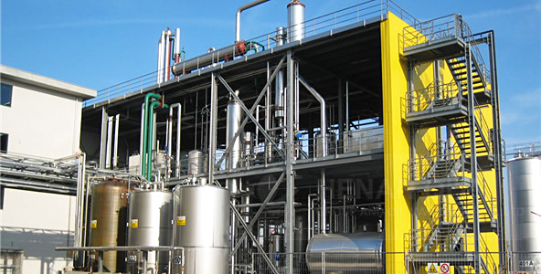 خط إنتاج زيت فول الصويا وبذور القطن TPD100