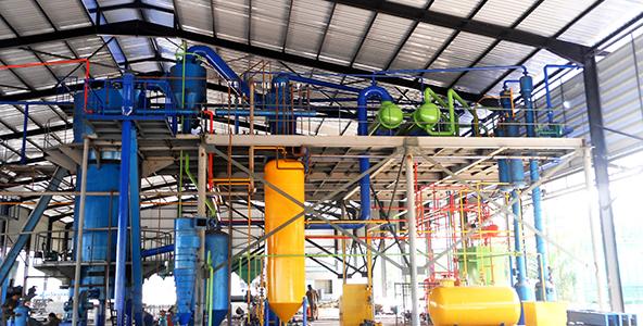 خط استخراج كيك النخيل النبات في تايلاند TPD100